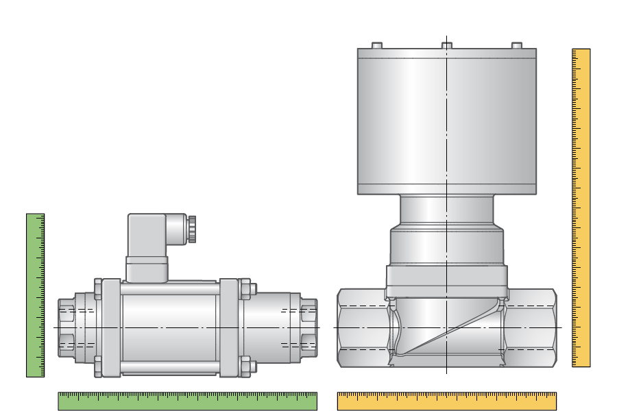 kompakte Baugröße