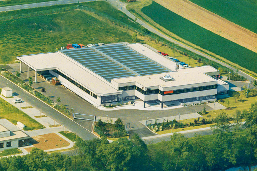 Relocation to new facilities in the Forchtenberger Industrial Park.