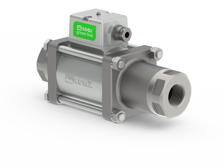 2/2 way co-ax® greenline™ valves