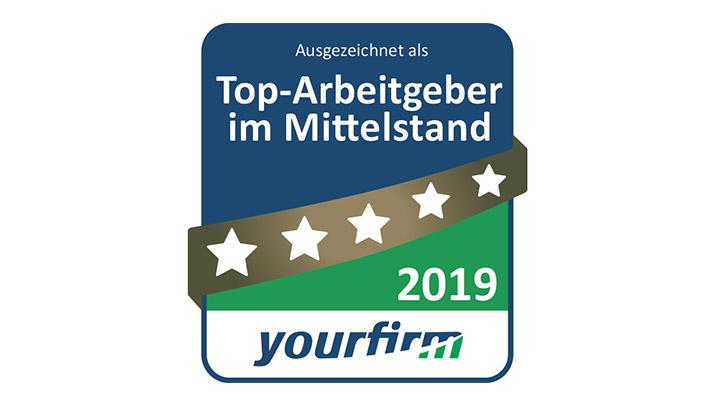 """müller co-ax ag ist """"Top-Arbeitgeber im Mittelstand 2019"""""""
