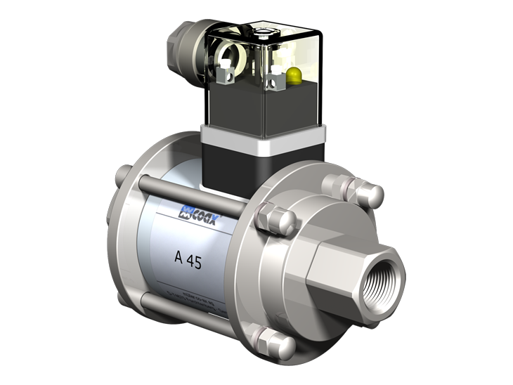 High Pressure coaxial Valves