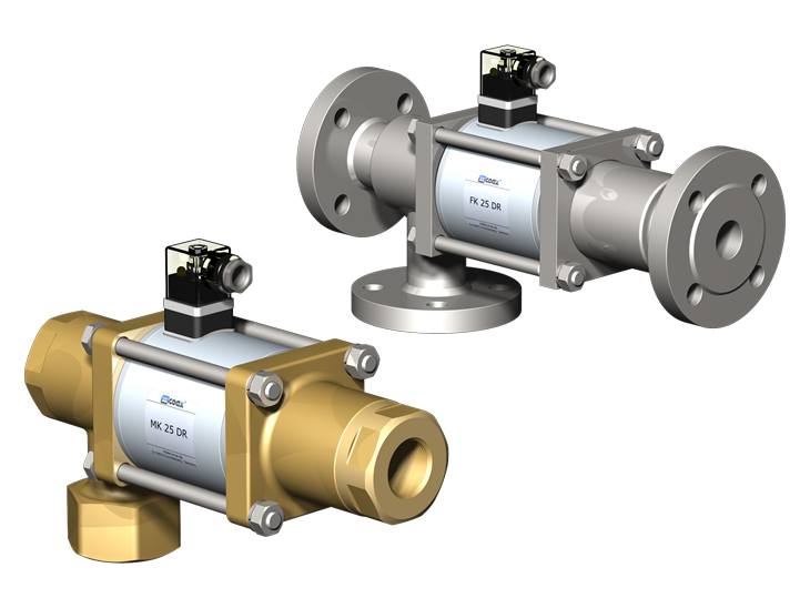 3/2 Way coaxial Direct Acting Valves